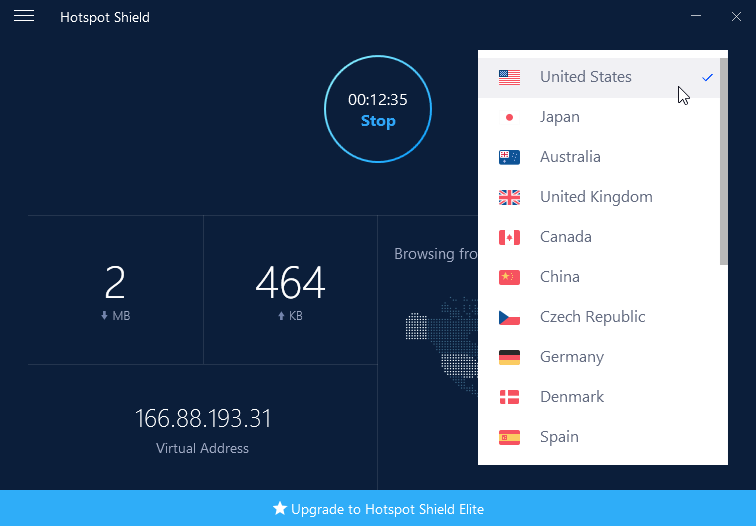 Hotspot Shield 7.4.2 Crack plus Serial Key [Latest] Free Download