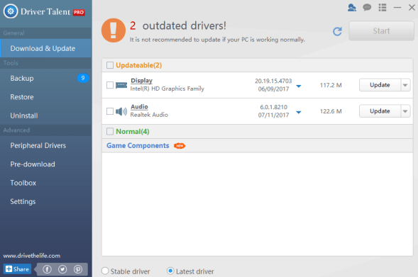 Driver Talent Pro 6.5.61.174 Crack & Activation Code Free Now