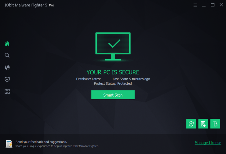 IObit Malware Fighter 5.5.0.4388 Crack plus Keygen Free Download