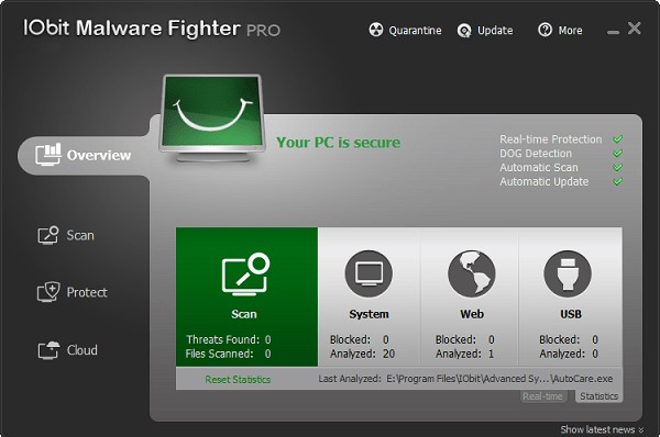 IObit Malware Fighter 6.0.0.4440 Crack & Activation Code Download